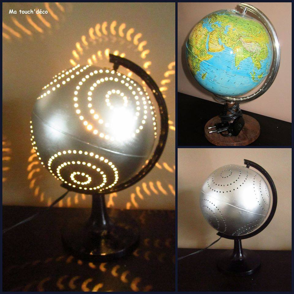 just nice r sultats de recherche recycler globe terrestre. Black Bedroom Furniture Sets. Home Design Ideas