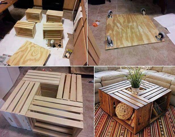 Just Nice » Table Basse En Palette
